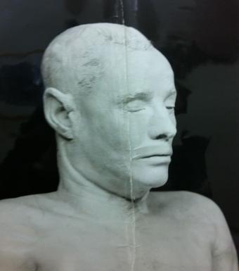 Somerton Man bust