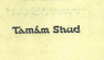 Courage & Friendship TAMAM SHUD with writing on reverse