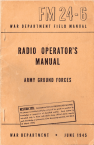 radio operators manual