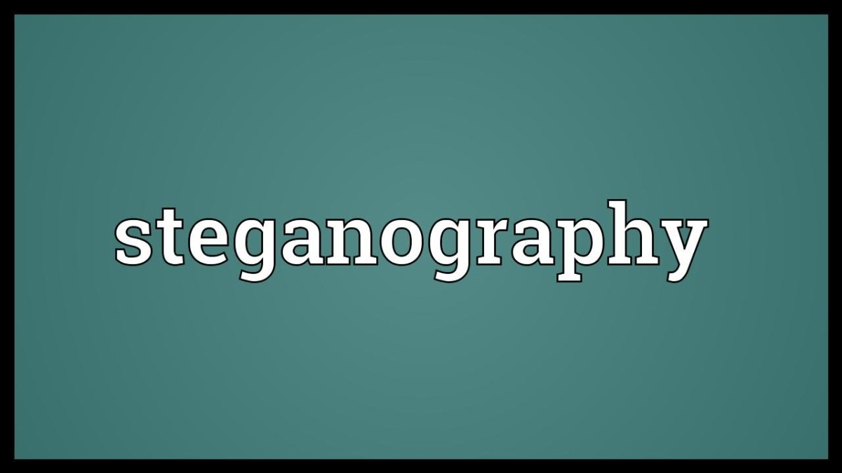 Steganography - it's real